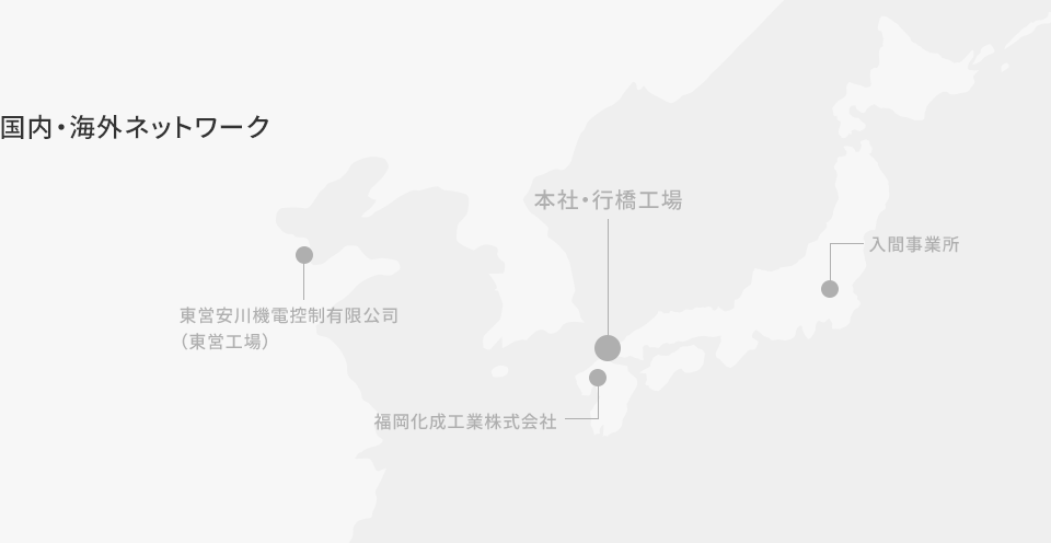 国内・海外ネットワーク